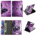 "TABLET CASE FOR 7 INCH 7"" ROTATING FOLIO PU LEATHER  UNIVERSAL COVER CARD SLOTS"
