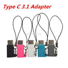 Small Mini Type C Type-c USB-C 3.1 to Micro USB Adapter Converter Connector New