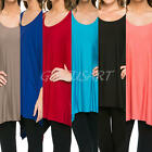Womens Casual Batwing Sleeve Cotton Loose Blouse Tops T-shirts Plus Size S-3XL