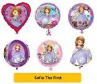 "SOFIA THE FIRST FOIL BALLOONS (SuperShape/Kids/Birthday/Party/Foil/18""/Latex)"