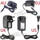 AU DC12V 2A 24W Power Supply Charger Transformer + Free DC For LED Strip Adapter