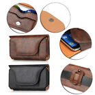 Mobile Phone Leather Waist Hang Case Cover Belt Holster Clip Bag Pouch Sleeve