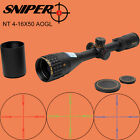 SNIPER NT 4-16X50 AOGL Glass Etched Reticle Elevation Lock Hunting Scope Sight