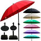 Marko 2.7M Tilting Shanghai Parasol Umbrella Sun Shade Garden Patio Furniture