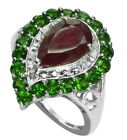 Ruby 2.98 Ct. Ring Genuine Sterling Silver Royal Women Authentic Fest Jewelry