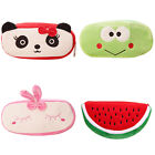Watermelon Frog Panda Rabbit Soft Pencil Pen Case Makeup Pouch Phone Bag Pretty
