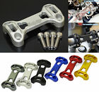 Handlebar Fat Bar Risers Mount Clamp Top Cover For 2013-2016 BMW R1200GS K50 K51