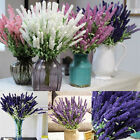 Home Decoration 10 Heads Lavender Bouquet Wedding Silk Flowers High Simulation