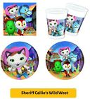 SHERIFF CALLIE'S WILD WEST (Tableware Balloons Decorations Kids Party Supplies)