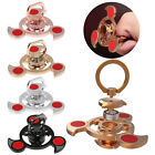 Kid Ring Stand Triangle Hand Spinner Fidget Finger Desk Focus EDC Toy ADHD Fun