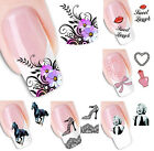 Women Makeup Beauty Water Transfer Stickers Nail Art Tips Decals Decoration Hot