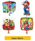 SUPER MARIO Bros FOIL BALLOONS - SuperShape Kids Birthday Party Latex Nintendo