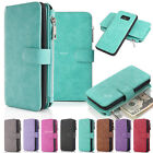 Multifunction Genuine Leather Case Cards Wallet Cover For Samsung Galaxy S8 Plus