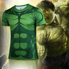 Mens Marvel Superhero Compression Sport T-shirt Tights Tee Tops Cosplay Costume