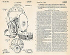 1927 Vintage Football Helmet Posters Coaches Gifts Patent Print Merchandise NFL