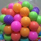 CHILDRENS PLASTIC PLAY BALLS FOR BALL PITS PEN POOL MULTICOLOURED TOY SOFT