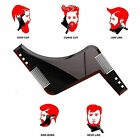 Fashion Beard Shaper Men Shaping Comb Tool For Perfect Lines Cut Template zz