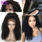 Body Wave Lace Front Wig 100% Virgin Human Hair Full Lace Wig Natural Deep Curly