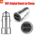 Original Xiaomi Car Charger Dual USB Output Fast Charging Intelligent 2 PortS