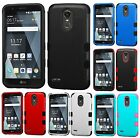 For LG STYLO 3 / STYLO 3 PLUS - Hybrid Armor Impact HARD&SOFT Phone Case Cover