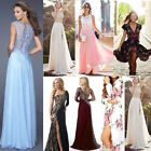 New Long Chiffon Evening Formal Party Ball Gown Prom Bridesmaid Cocktail Dress