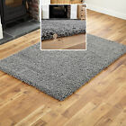 DARK GREY THICK SHAGGY RUG THICK PILE SOFT TOUCH GREAT QUALITY RUGS CHEAP PRICE