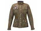 Triumph Motorcycles Women's Waxed Cotton Barbour Jacket (MLTA15121) $432.0 USD