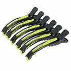 6pcs Crocodile Hair Sectioning Clips Clamps For Salon Hairdressing Styling