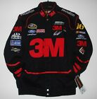 Nascar Greg Biffle 3M  Black Twill  Cotton jacket new JH Design