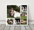 Square Collage Canvas Print photos printed on canvas wedding gift family idea