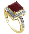 Thailand Natural Ruby 2.98 Ct. Exotic Ring Solid Gold Engagement Event Jewelry