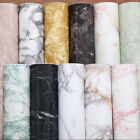 16ft Grey Marble Contact Paper Wallpaper Self Adhesive Peel Stick Wall Covering $16.44 USD