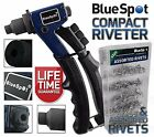 Heavy Duty Industrial Compact Riveter Pop Rivet Gun & Assorted Rivets