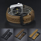For Apple Watch Series 3 2 1 Band Bandkin Vintage Genuine Leather Watch Strap