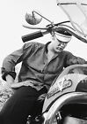 Elvis Presley Harley Davidson Poster The King of Cool FREE P+P, CHOOSE YOUR SIZE €20.07 EUR on eBay