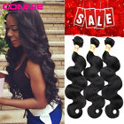Brazilian Body Wave 3 Bundles Virgin Hair Weft Remy Human Hair Weave Extensions