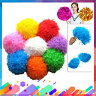 8 Colors 2pcs Pom Poms Cheerleader Cheer leading Cheer Poms Dance Party Decor GD