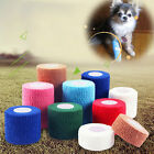 Self-Adhering Pet Dog Cat Puppy Non Woven Vet Wound Cohesive Bandage Wrap Tape