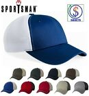 Sportsman Contrast 3100 or, Spacer Mesh 3200 or, Marled Mesh Back Hats 9310 Caps