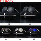 Mens Aviator Polarized Sunglasses Womens Outdoor Sports Driving Glasses Eyewears