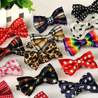 Men Boys Kids Fancy Satin Toddler Bowtie Pre-Tied Wedding Party Bow Tie Necktie