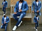 Young Wild Fashion Rebel JEANS JACKE Mode ClubSTYLE Party Outfit Biker Rocker