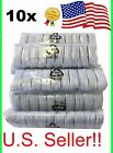10-pack Usb Sync Data Charging Charger Cables Cord Fits Apple Iphone 5 5c 5s 6 7