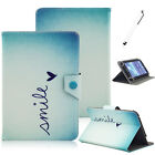 """7"""" Painted Universal PU Leather Stand Cover Case For 7.0"""" Inch tablet PC Holder"""