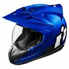 ICON Variant Double Stack Motorcycle Helmet Blue