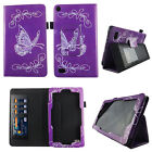 TABLET CASE FOR KINDLE FIRE 7 INCH 2015 COVER  STAND CARD POCKET W STYLUS