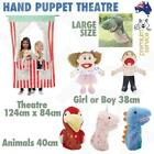 Hand Puppet Large Theatre Show Marionette Kids Toy Animal Doll Role Play Plush