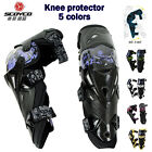 Motorcycle Off Road ATV Adult Knee Pad Protective Guard Armor Gear Pads Scoyco