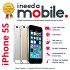 Apple iPhone 5S 16GB 32GB 64GB - All Colours - UNLOCKED - O2 - EE - 3 - VODAFONE