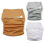 REUSABLE ADULT CLOTH DIAPER NAPPY PANTS FOR INCONTINENCE BEDWETTING COMFY